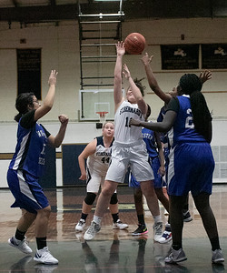 ST. B's girls basketball, Jan. 8, 2020