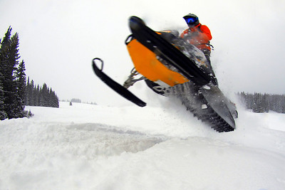 Vail Pass Sled - Mar 1 2012