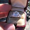 2.23ct Old European Cut Diamond Edwardian Solitaire GIA I VS1 24