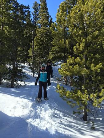 Snowshoeing Rocky Mountain National Park - Peter Mcclelenhan
