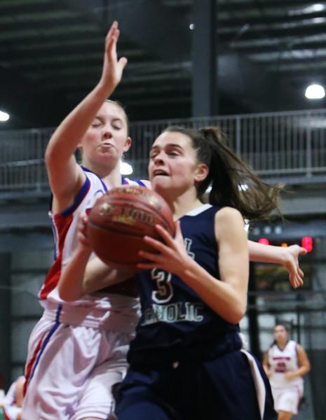 IACS vs Lowell Catholic basketball 010419