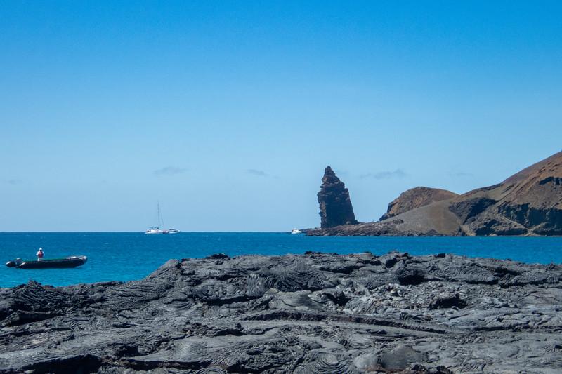 Walking on old lava