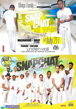 """STINGA FAMILY annual """"SNAP CHAT ALL WHITE""""(20)"""