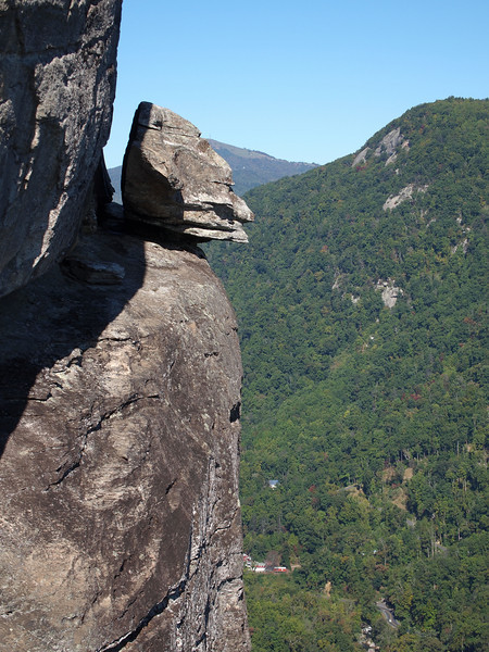 Devil's Head at Chimney Rock SP.