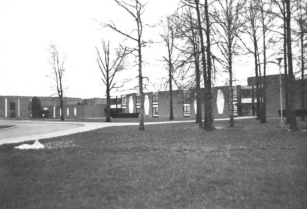 . Historic photo provided by Jim Smith <br> Southview High School opened in 1969 on 42nd Street in Lorain. From 2012 to 2016 Southview served as Lorain High School, unifying students from three former high schools.