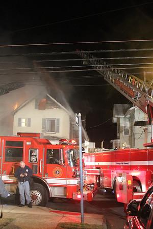 Hackensack NJ, 3 Alarms @435 Park St, 3/17/2013