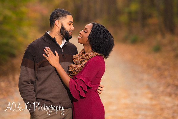 Stephanie & Stanley Engagement Session :: Umstead Park