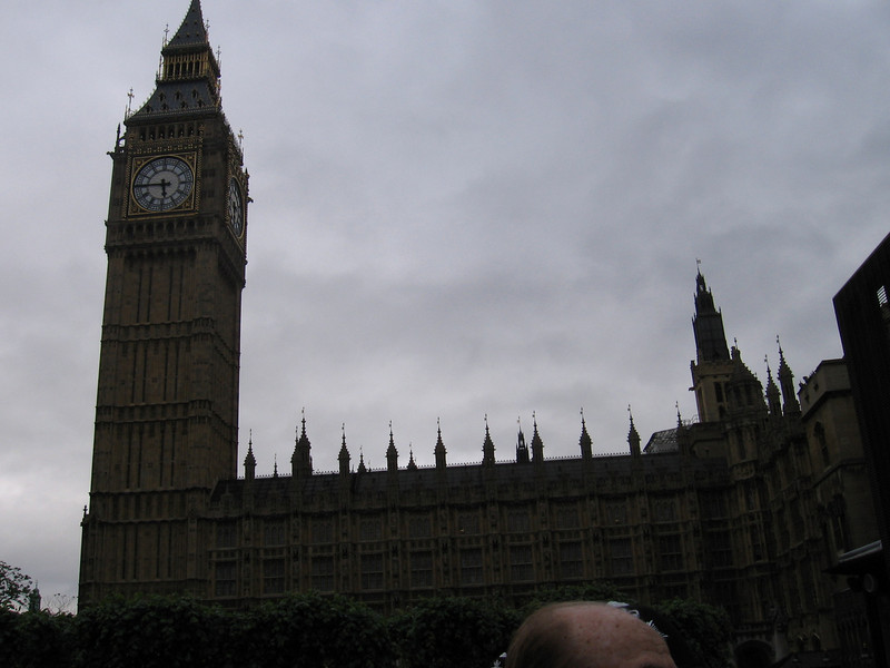 Big Ben, the Houses of Parliament