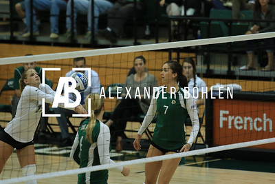 2014 Cal Poly Volleyball vs Fullerton