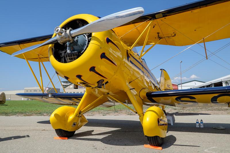 Waco at AOPA Regional Fly-in Chino, CA - 21SEP2014