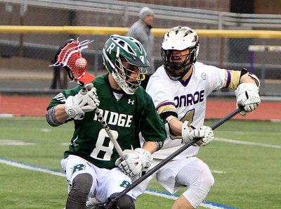 March 28,  2018 vs Ridge HS Boys Lax, photos by T Perry