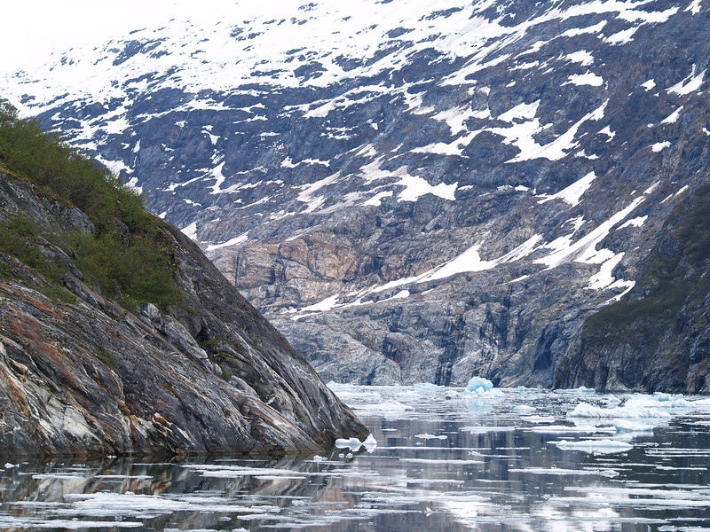 The corner to Sawyer Glacier