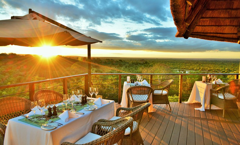 New restaurant at Victoria Falls Safari Club.JPG