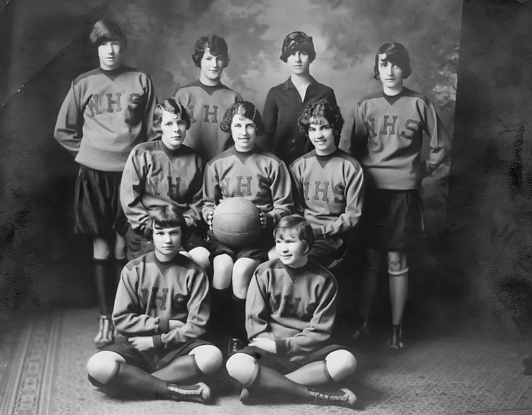 1927 Emilia and Irene Jagla Wenatchee HS Basketball jag.jpg