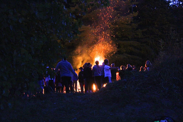 BBA Homecoming …Bonfire photos by Gary Baker