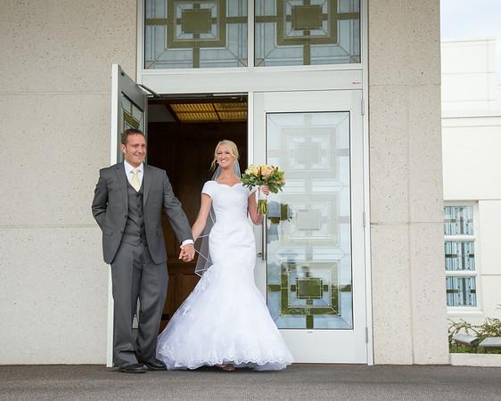 Idaho Falls Temple Wedding
