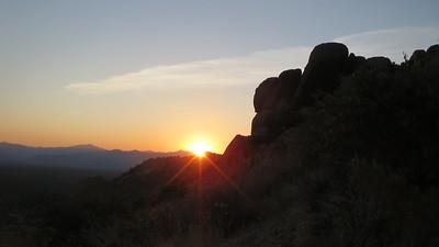 Sunrise-Toms Thumb Trail 13AUG2015