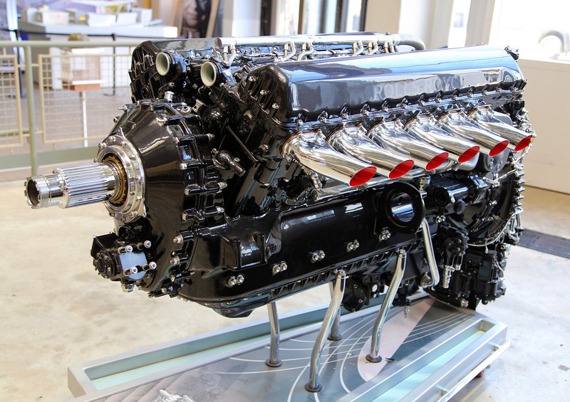 A powerful Allison airplane engine.