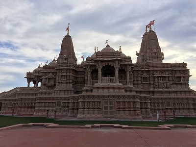 Mandir Temple, Chino Hills January 2016