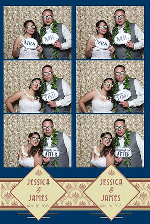 Jessica & Jame's Wedding (Mini Open Air Photo Booth 2)