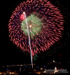 Ghajnsielem 2010 Fireworks