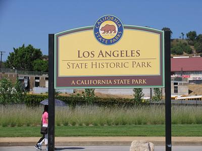 LosAngelesStatePark-RibbonCutting-Sept 23, 2006