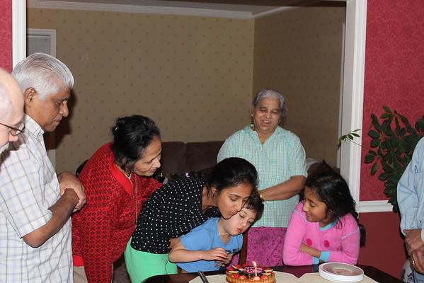 Erica's 10th and Rachel's 13th Birthdays