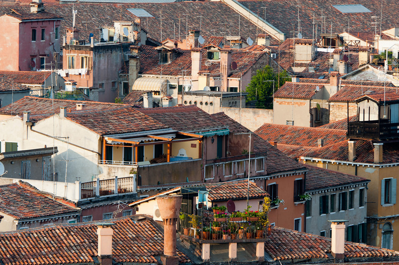 Rooftops in Venice, Italy