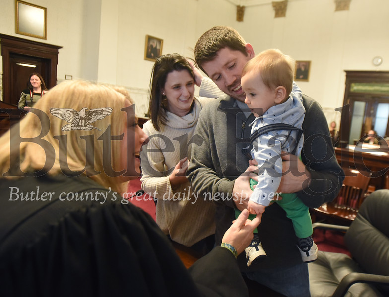 63133 National Adoption Day at Butler County Courthouse