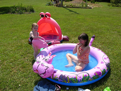 Gracie's Visit Summer 2012