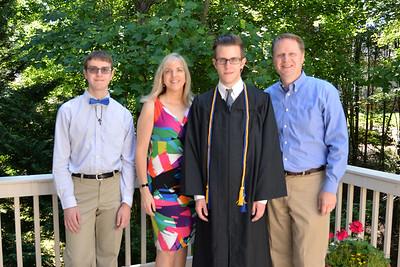 Jacob's High School Graduation