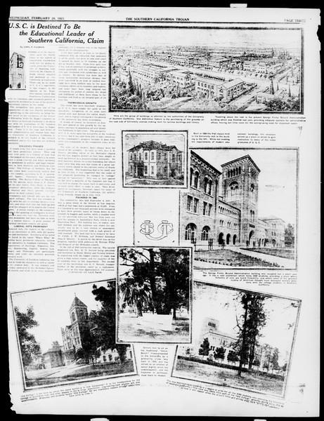 The Southern California Trojan, Vol. 14, No. 61, February 28, 1923