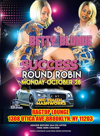 "BETTY BLONDE ""SUCCESS ROUND ROBIN""(16)"
