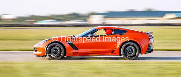 Michael Birk - Orange C7 Corvette Z06