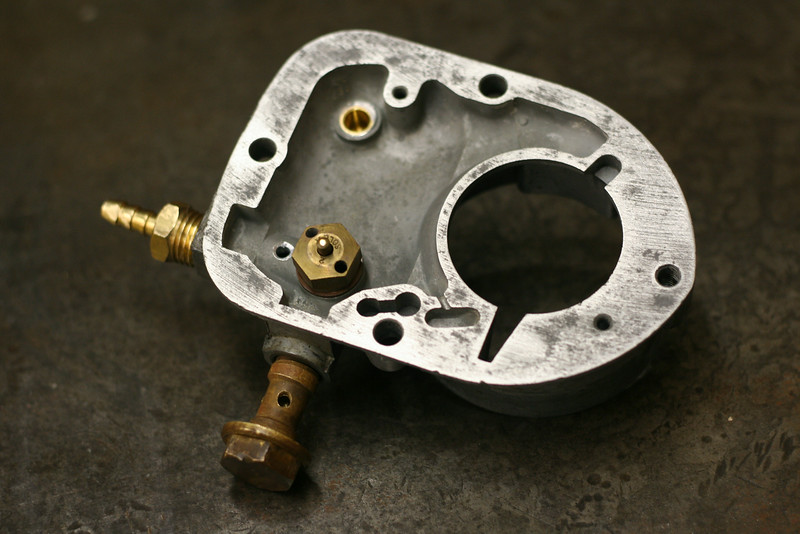 Modified carb cover