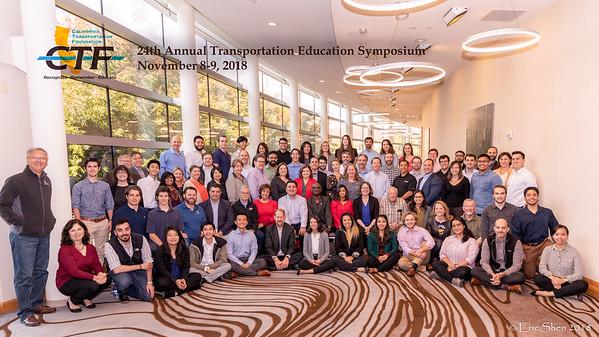 Annual Education Symposium Group Photos