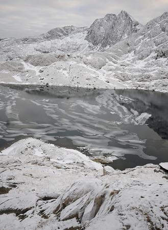 Walking Snowdon in Winter