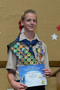 Nathan Eagle Court of Honor 08-08-2015