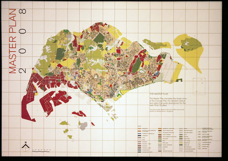 Singapore Master Plan (entire country).