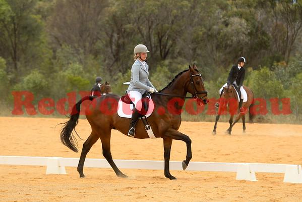 2014 10 18 Swan River Horse Trials Dressage EvA105J