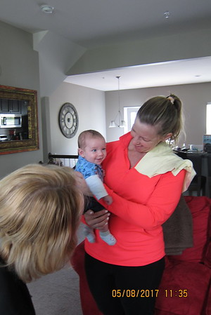 Visit with Cynthia and Carson