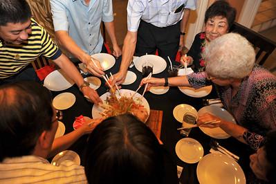 CNY 2010 Family Reunion Dinner