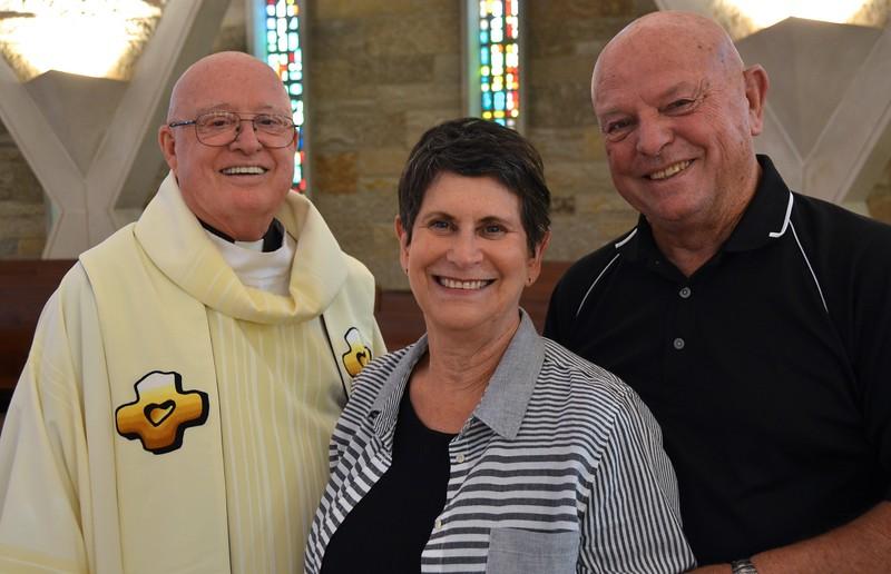 Fr. Mac and visiting family