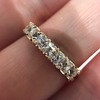 1.17ctw French Cut Diamond 7-Stone Band 3