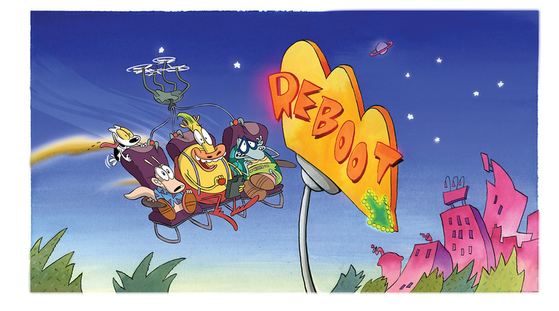 FIRST LOOK: New 'Rocko's Modern Life: Static Cling' image and video #SDCC