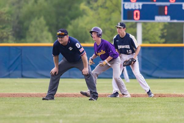 AHS JV Baseball at Bishop Dwenger