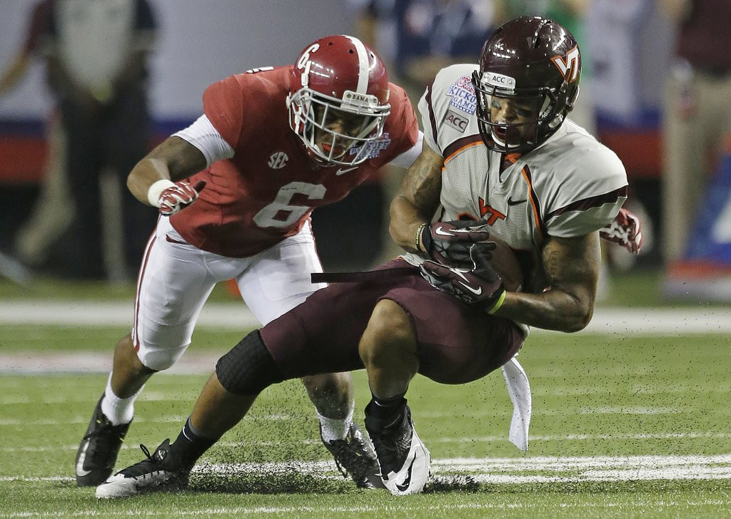 . <p><b>13. St. Louis: Ha Ha Clinton-Dix, S, Alabama. </b> <p>The Rams haven\'t had a winning season since 2003 but hope finally to have the last laugh with help from Ha Ha.  (AP Photo/Dave Martin, File)
