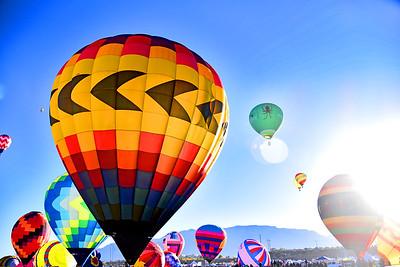 International Hot Air Balloon - ABQ, NM
