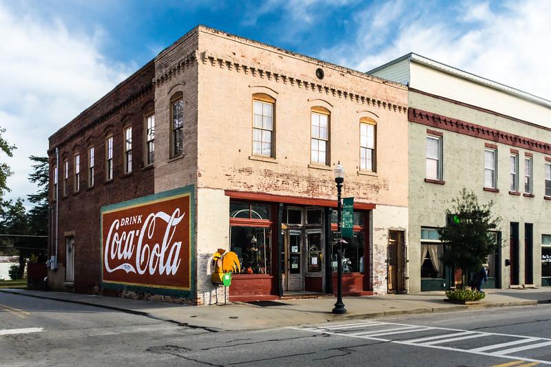 GA, Warrenton - Coca-Cola Wall Sign