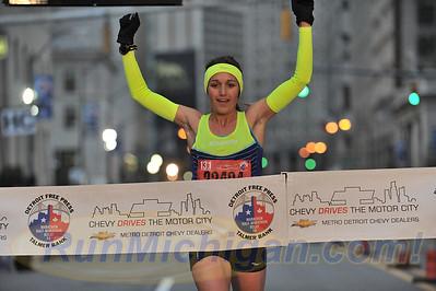 Intl. Half Finish, Gallery 1 - 2015 Detroit Marathon